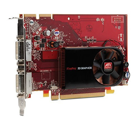Ati Firepro V3700 PCIE 256 MB 2Port Dvi-I Graphics Card FY944UT