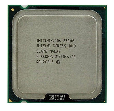 Intel Core 2 Duo E7300 2.66GHz 3MB CPU Processor LGA775 SLAPB SLB9X SLGA9