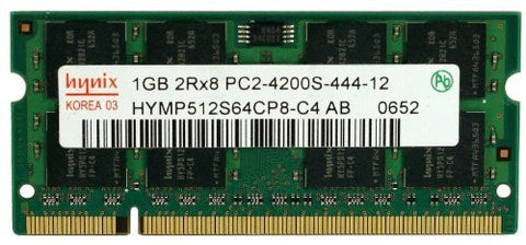 Hynix 1GB DDR2 PC2-4200 PC2-4300 533MHZ SODIMM (200 Pin) laptop memory