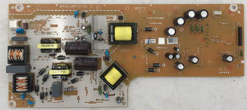 Sanyo FW50D48F LED TV BAALUBF0102_2 Power Supply Board- ABAUAMPW