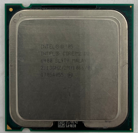 Intel Core 2 Duo E6400 Desktop CPU Processor- SL9T9