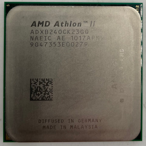 AMD Athlon II X2 B24 Desktop CPU Processor- ADXB24OCK23GQ