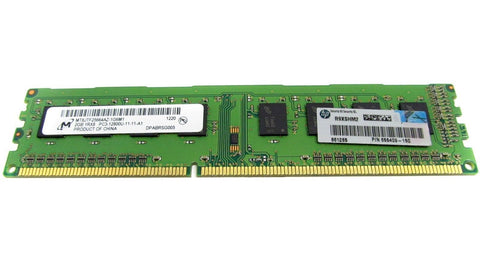 HP DIMM, 2GB, PC3-12800, CL11, , 655409-150