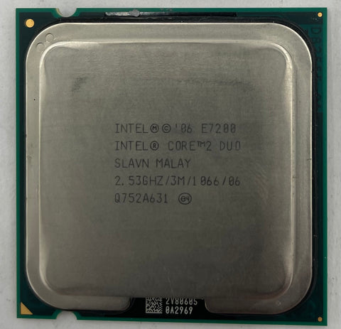 Intel Core 2 Duo E7200 Desktop CPU Processor- SLAVN