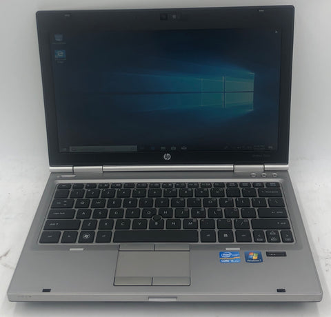 HP EliteBook 2560p Laptop- 320GB HDD, 4GB RAM, Intel i5-2520M CPU @ 2.50GHz, Windows 10 Pro