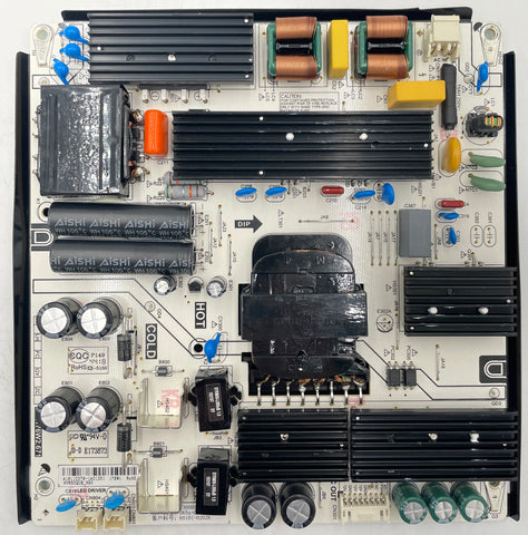 Vizio D65X-G4 4K LED TV PW.176W2.671 Power Supply Board- 4300004942
