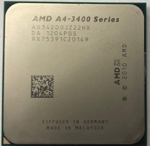 AMD A4-Series A4-3420 Desktop CPU Processor- AD3420OJZ22HX