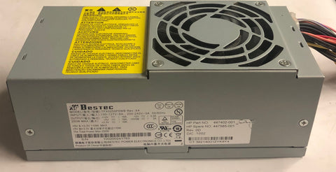 HP Compaq dx7500 SFF PC TFX0250P5WB 250W Power Supply- 447585-001
