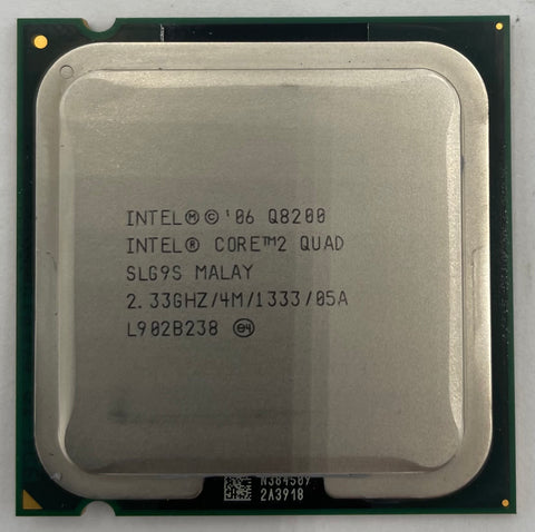 Intel Core 2 Quad Q8200 Desktop CPU Processor- SLG9S