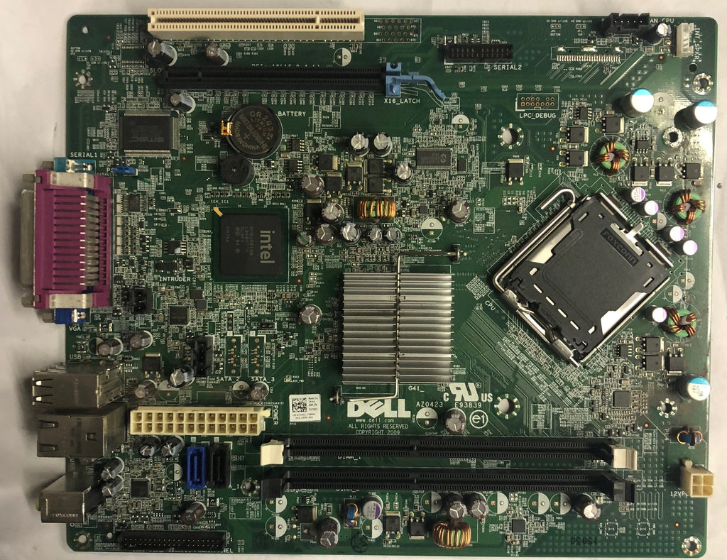 Dell OptiPlex 380 Desktop AZ0423 Motherboard- 1TKCC