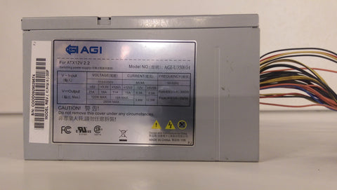 AGI 350W Server Switching Power Supply- AGI-U350HH