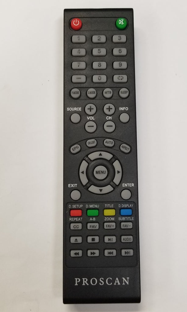 Proscan Pldedv3285 Led Tv Dvd Remote Control Iecr03 Buffalo Computer Parts