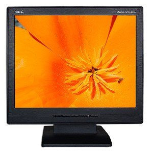"15"" NEC AccuSync LCD51V-BK LCD Monitor (Black) - Refurbished"