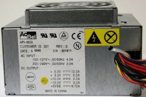 ACBEL API-8628 POWER SUPPLY FOR PRESARIO 5304