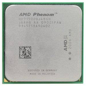AMD HD9150ODJ4BGH Phenom X4 9150e 1.8GHz Socket AM2/AM2+ Agena CPU Processor
