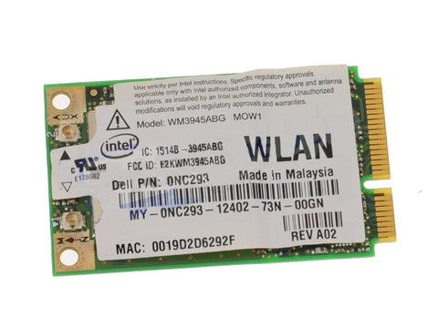 Dell Mini PCI Express NC293 WLAN WiFi 802.11g Wireless Card Latitude D630 Precision M90 Inspiron 142