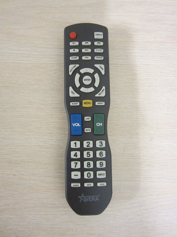 Avera 55EQX10 UHD LED TV Remote Control