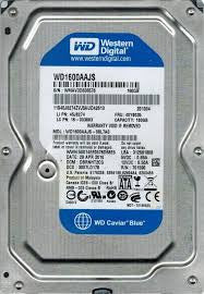 Western Digital Caviar Blue 160GB Hard Drive- WD1600AAJS-08L7A0