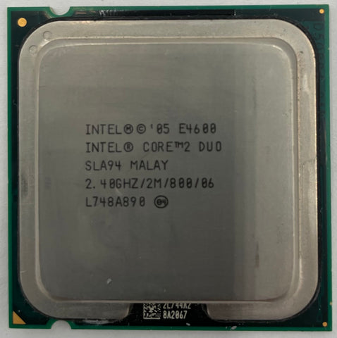 Intel Core 2 Duo E4600 Desktop CPU Processor- SLA94