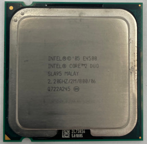 Intel Core 2 Duo E4500 Desktop CPU Processor- SLA95