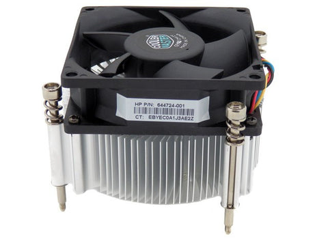 HP Pro 3500 Microtower PC Cooling Fan & Heatsink- 644724-001