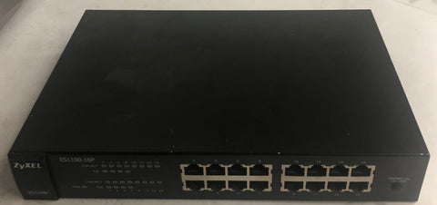 Zyxel 16-Port Unmanaged Switch- ES1100-16P