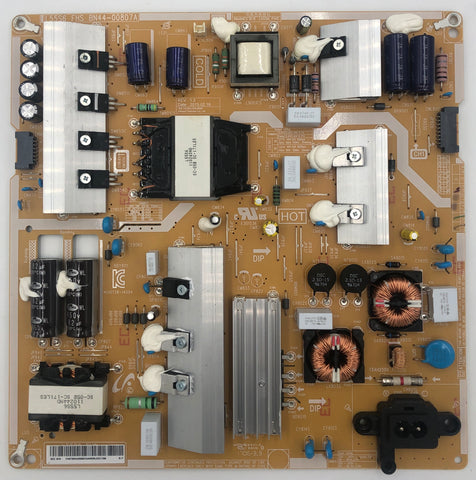 Samsung UN55MU6500FXZA 4K LED TV L55S6_FHS Power Supply Board- BN44-00807A