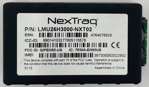 NexTraq LMU26H3000-NXT02 Vehicle Tracking Device
