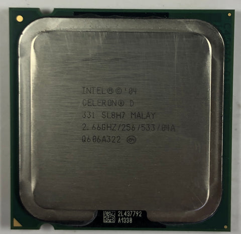 Intel Celeron D 331 Desktop CPU Processor- SL8H7