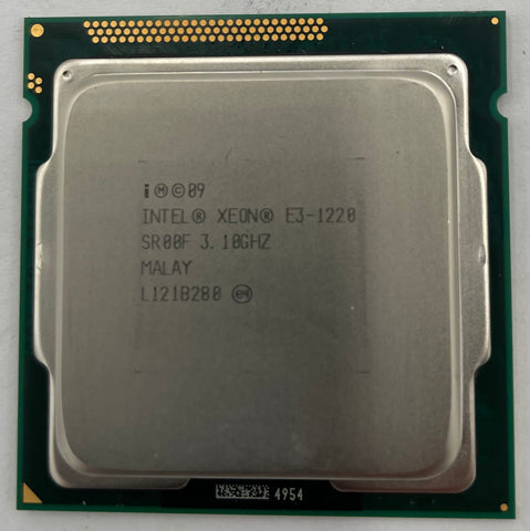 Intel Xeon E3-1220 Server CPU Processor- SR00F