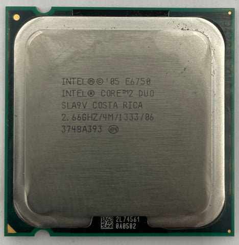 Intel Core 2 Duo E6750 Desktop CPU Processor- SLA9V