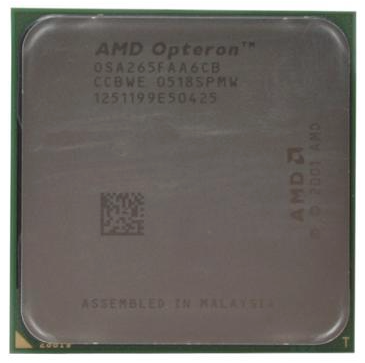 AMD Dual-Core Opteron 265 Server CPU Processor- OSA265FAA6CB
