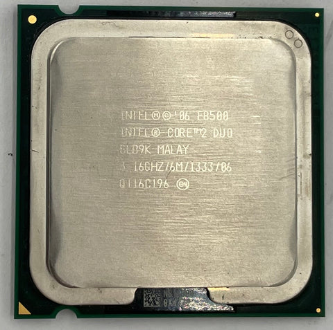 Intel Core 2 Duo E8500 Desktop CPU Processor- SLB9K