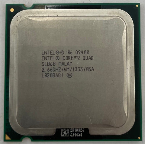 Intel Core 2 Quad Q9400 Desktop CPU Processor- SLB6B