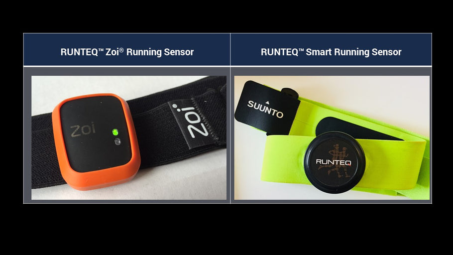 How do Zoi and Runteq Smart Running Sensor differ ?