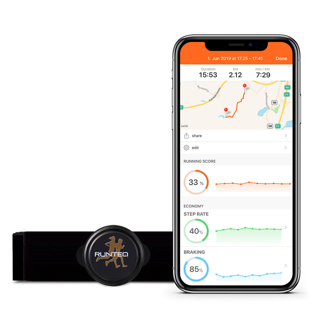 RUNTEQ Smart Running Sensor HR