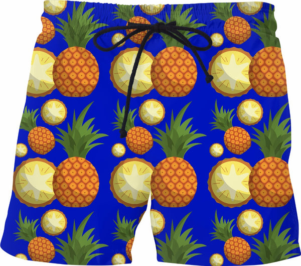 SHOW ME YOUR PINEAPPLE Swim Trunks