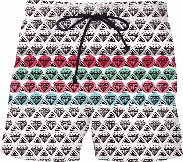 DIAMONDS Swim Trunks