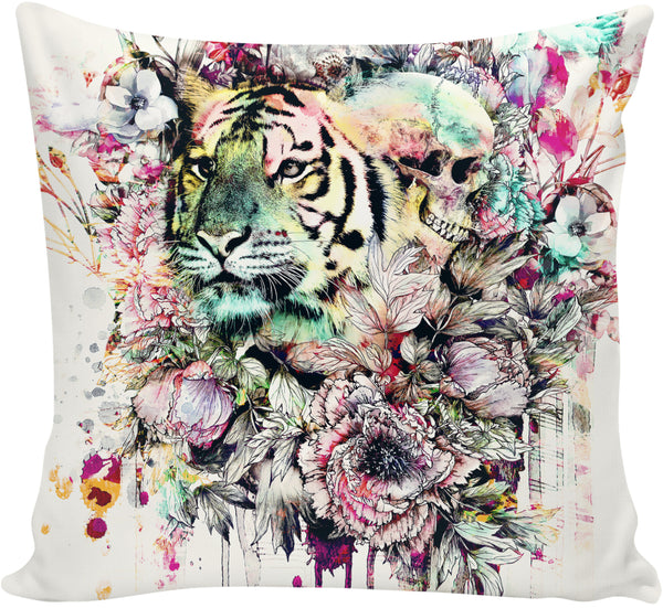 Interpretation of a dream - Tiger Couch Pillow