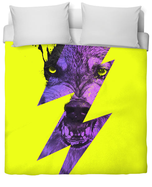 Thunderwolf Duvet Cover