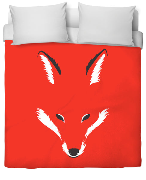 Foxy shape Duvet Cover