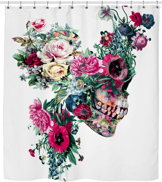 SKULL VIII Shower Curtain