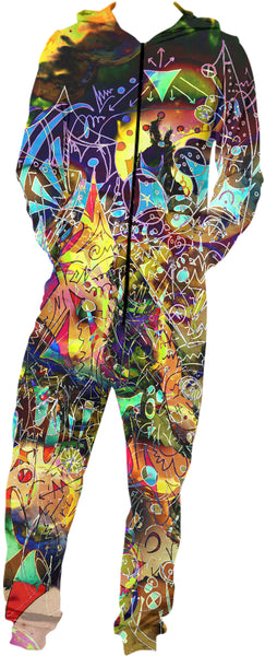 Face Melt Onesie