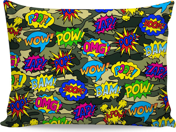 Camo Pop Art Pillowcase