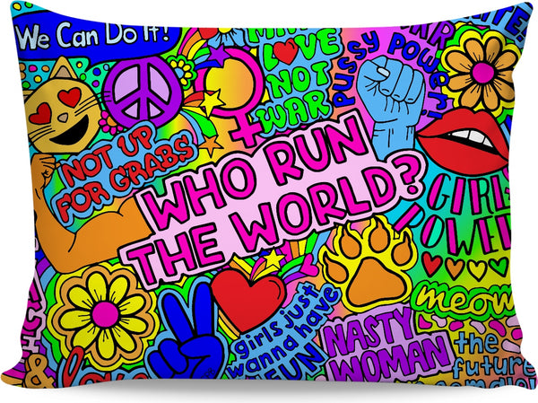 Who Run The World? Pillowcase