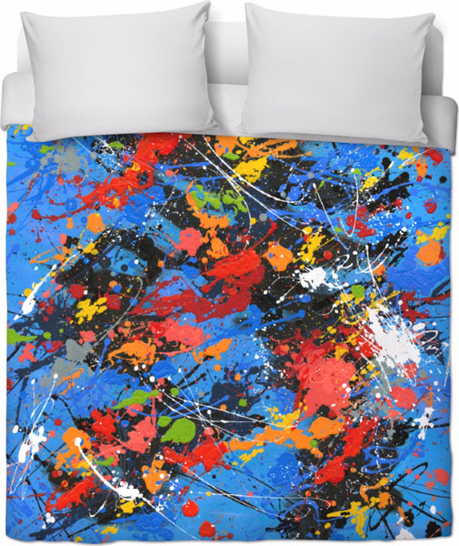 BON DANCING IN THE NIGHT Duvet Cover