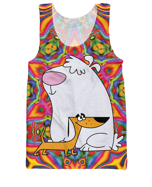 2 Stupid Dogs Tank Top