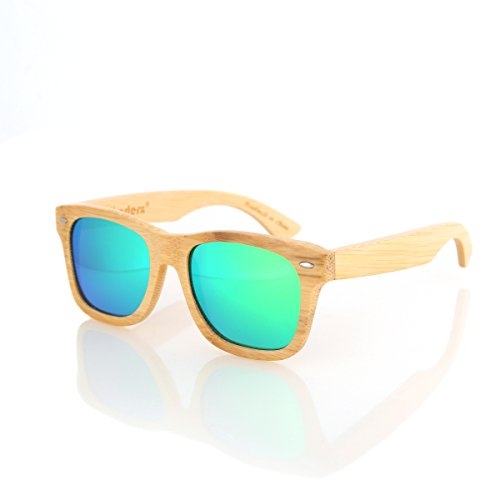 Bamboo Wood Polarized Retro Sunglasses