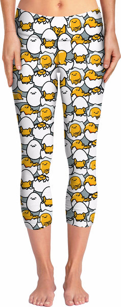 Gudetama Yoga Pants
