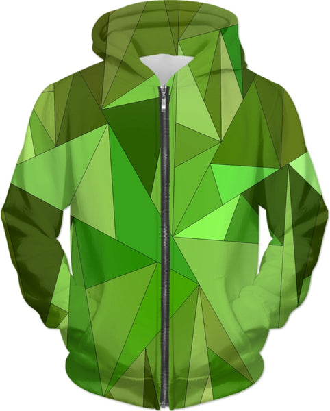 Green Shards (ALL PRODUCTS) Hoodie